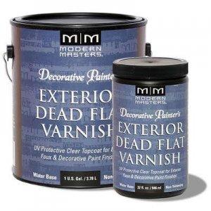 Modern Masters - Exterior Dead Flat Varnish