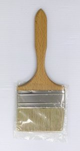 Castle Brushes - Lilly Varnish Brush 4""