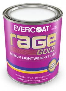 Evercoat - Rage Gold Premium Lightweight Filler - Gallon