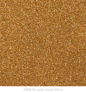 KBB 15 with Gold Mica