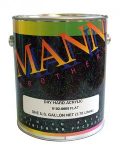 Mann Brothers - Dry Hard Acrylic Clear - Flat and Gloss