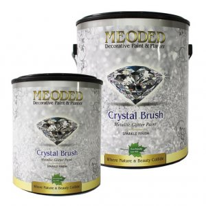 Meoded - Crystal Brush Glitter Paint