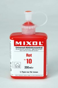 Mixol - Tinting Concentrates - 200ml Bottles