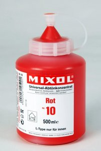 Mixol - Tinting Concentrates - 500ml Bottles