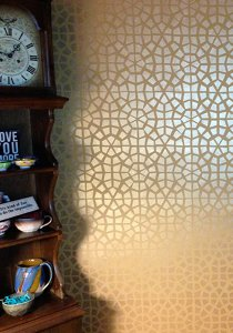 Modern Masters - Metallic Paint Collection - Wall Pattern