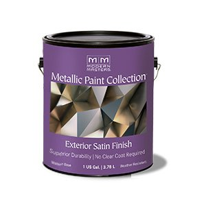 Modern Masters - Metallic Paint Collection - Exterior Satin - Gallon