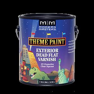 Modern Masters - Theme Paint - Exterior Dead Flat Varnish