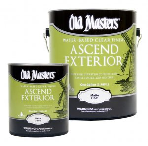 Old Masters - Ascend Exterior - UV Clear Finish