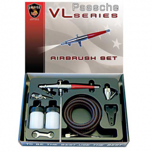 Paasche - VL - Double Action Airbrush Set
