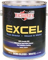 Richard's - EXCEL 100% Acrylic DTM - Semi-Gloss