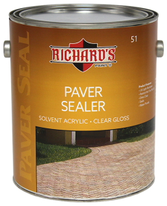 Richard's - 51 - Paver Sealer Clear Gloss