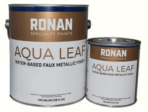 Ronan - Aqua Leaf Metallic Paint