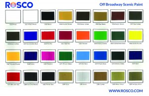Rosco - Off Broadway Paint - Gallons