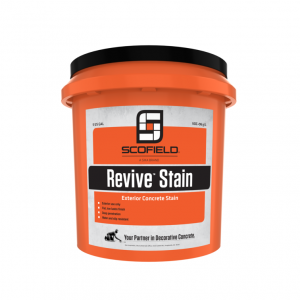 Scofield - Revive - Exterior Concrete Stain - 5 Gallon