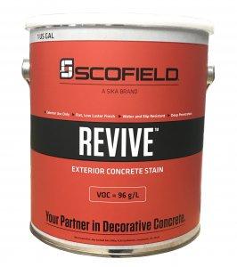 Scofield - Revive - Exterior Concrete Stain - Gallon