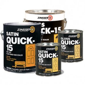 Zinsser - Quick 15 Finish and Sealer