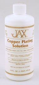Jax - Copper Plating Solution - Pint