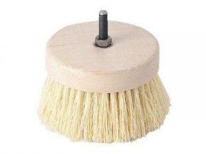 Drill Brush - Venetian Plaster Wax Buffer