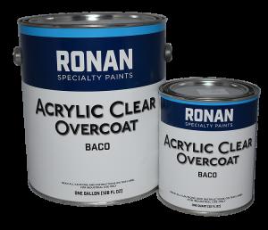 Ronan - Clear Acrylic Overcoat