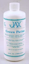 Jax - Green Patina - Pint