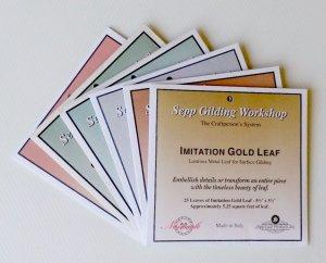 Sepp Leaf - Nazionale Leaf - Book (25 sheets)