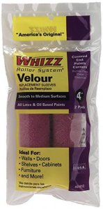 """Whizz - Purple Velour Roller Cover - 4"""" X 3/16"""""""